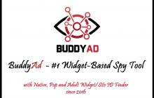 BuddyAd Review – New Widget-Based Spy Tool